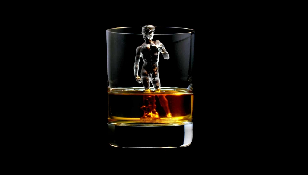Suntory 3D Ice Cubes David