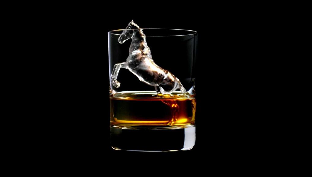 Suntory 3D Ice Cubes Horse