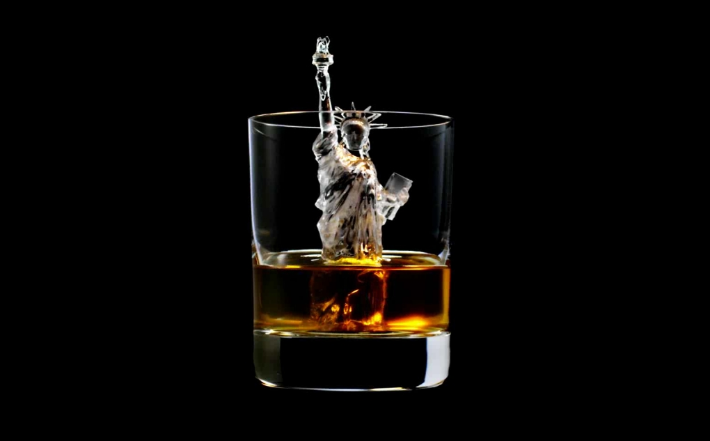 Suntory 3D Ice Cubes Statue of Liberty