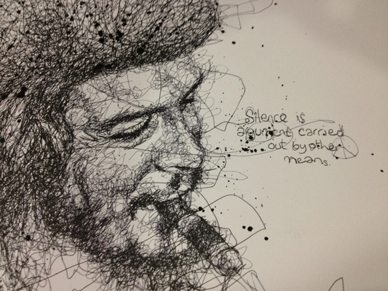Vince Low Simply Scribbly Portraits 11