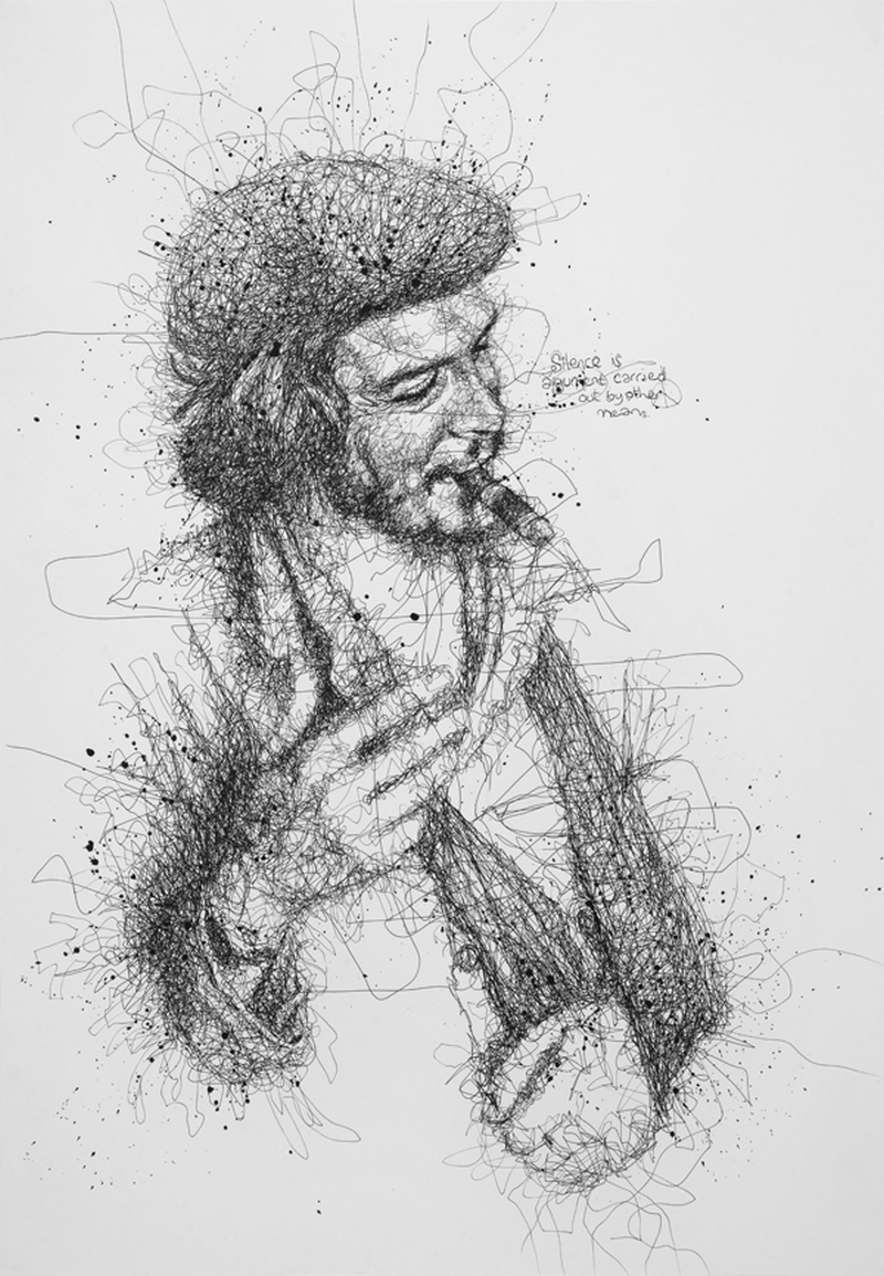 Vince Low Simply Scribbly Portraits 12