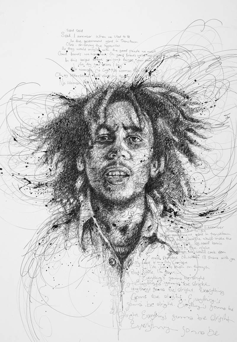 Vince Low Simply Scribbly Portraits 16