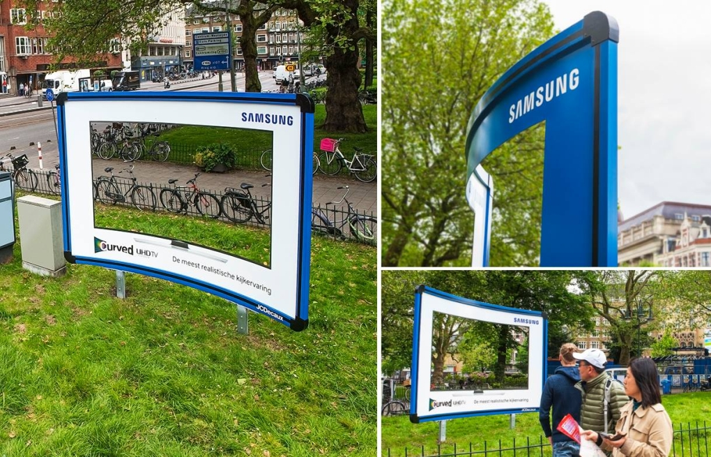 Samsung Curved Billboard 1