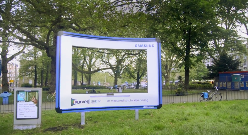 Samsung Curved Billboard 2
