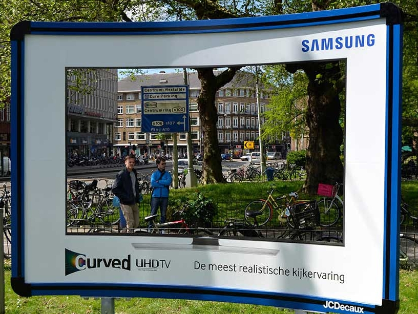 Samsung Curved Billboard 6