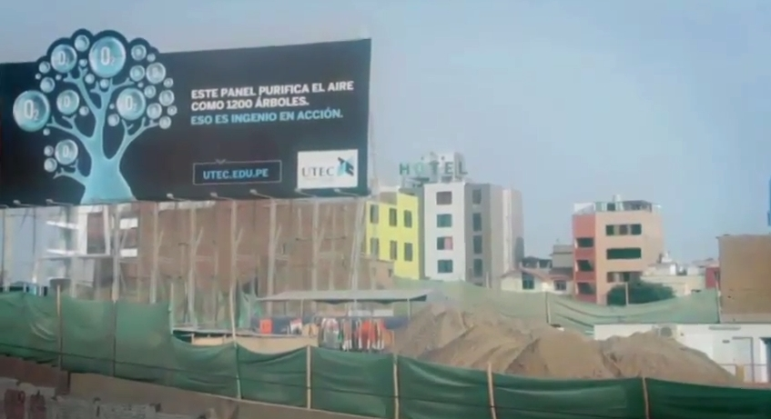 UTEC Air Purifying Billboard 12
