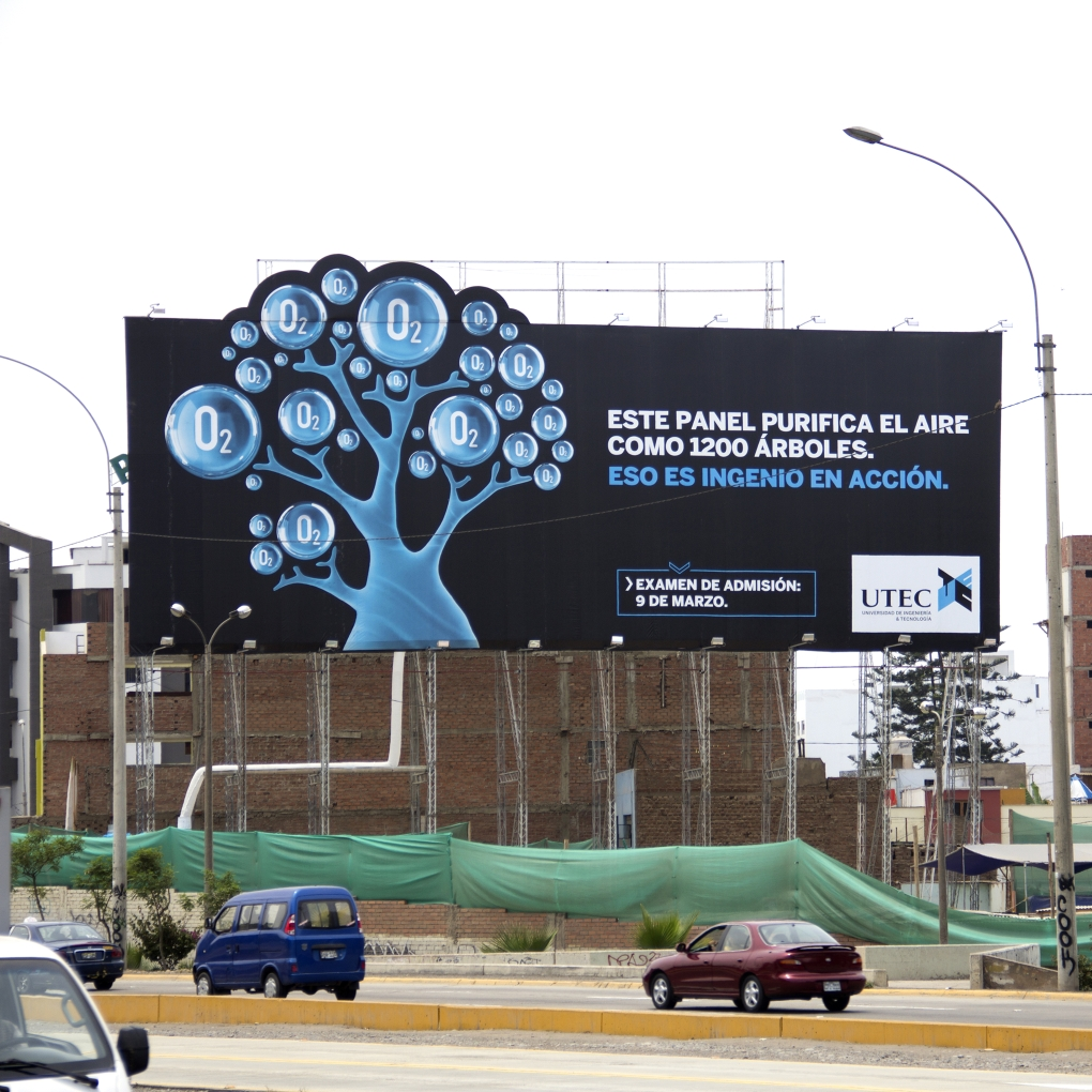 UTEC Air Purifying Billboard 16