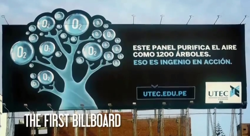UTEC Air Purifying Billboard 2