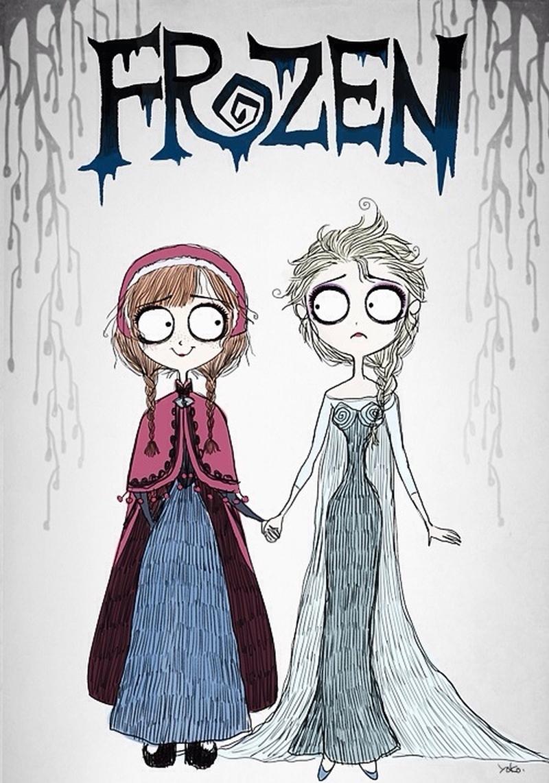 Yoko Burton Frozen 1