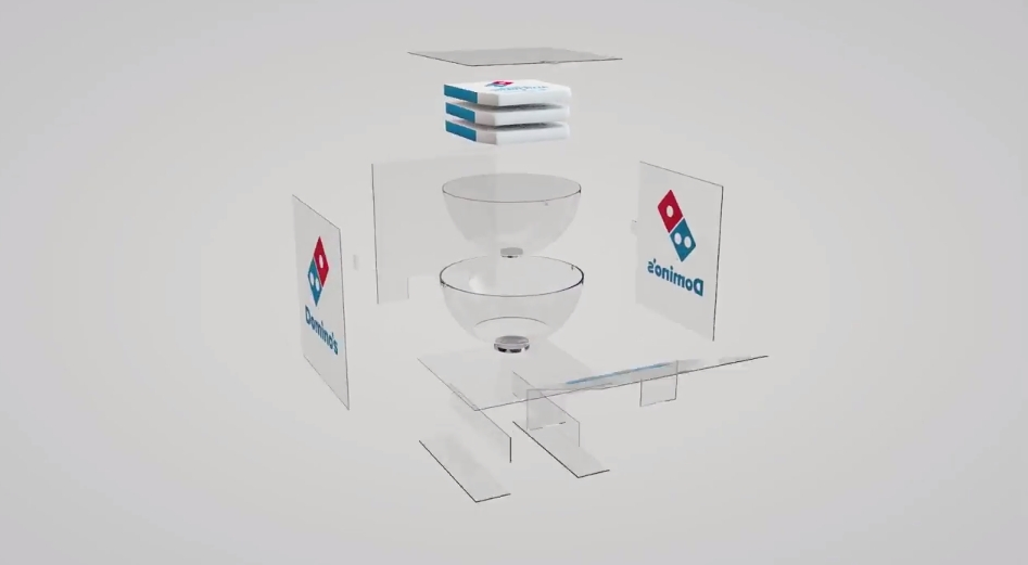 Domino's Steady Pizza 10