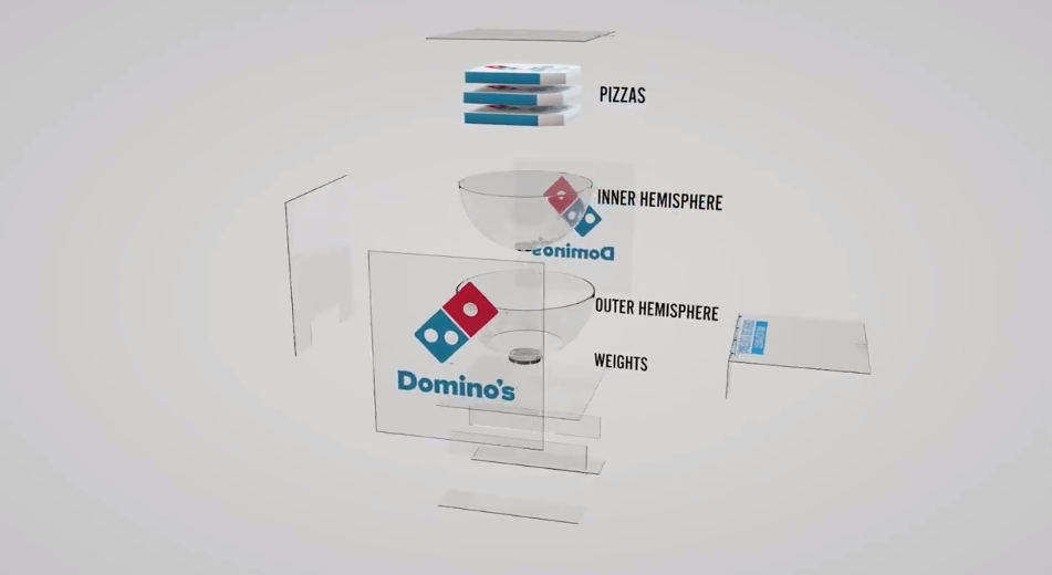 Domino's Steady Pizza 11