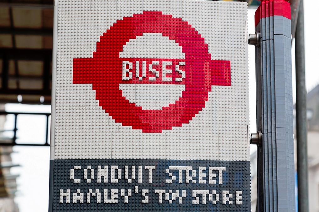 Hamleys Lego Bus Station 05