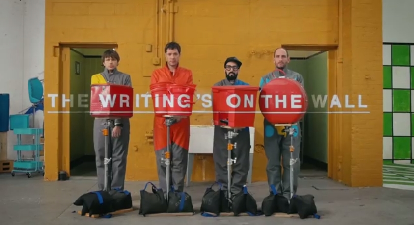 OK Go Writing On the Wall 1