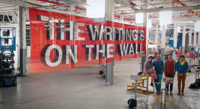 OK Go Writing On the Wall 15