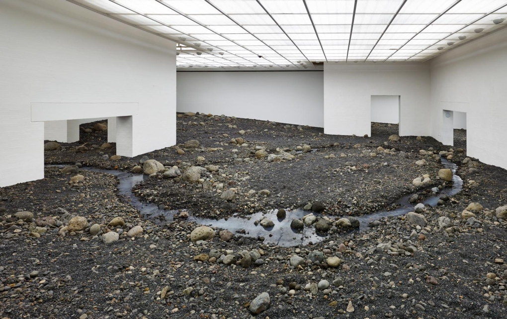 Olafur Eliasson Riverbed 1