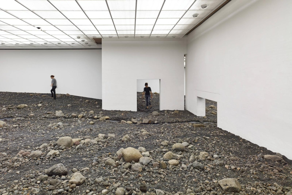 Olafur Eliasson Riverbed 3