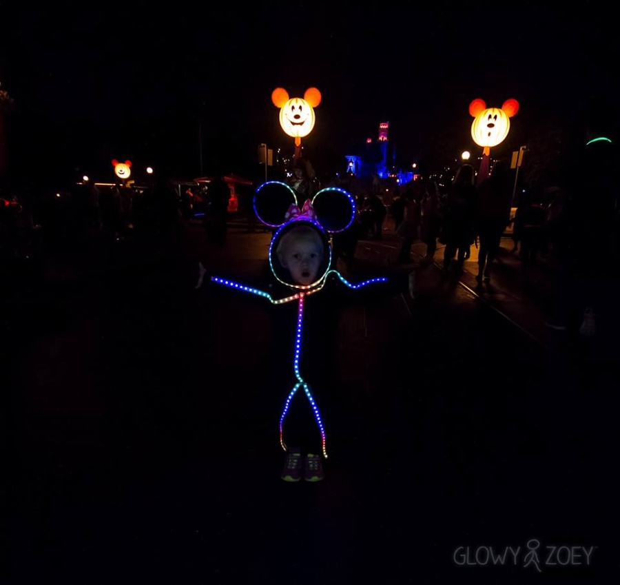 Glowy Zoey LED Minnie 1