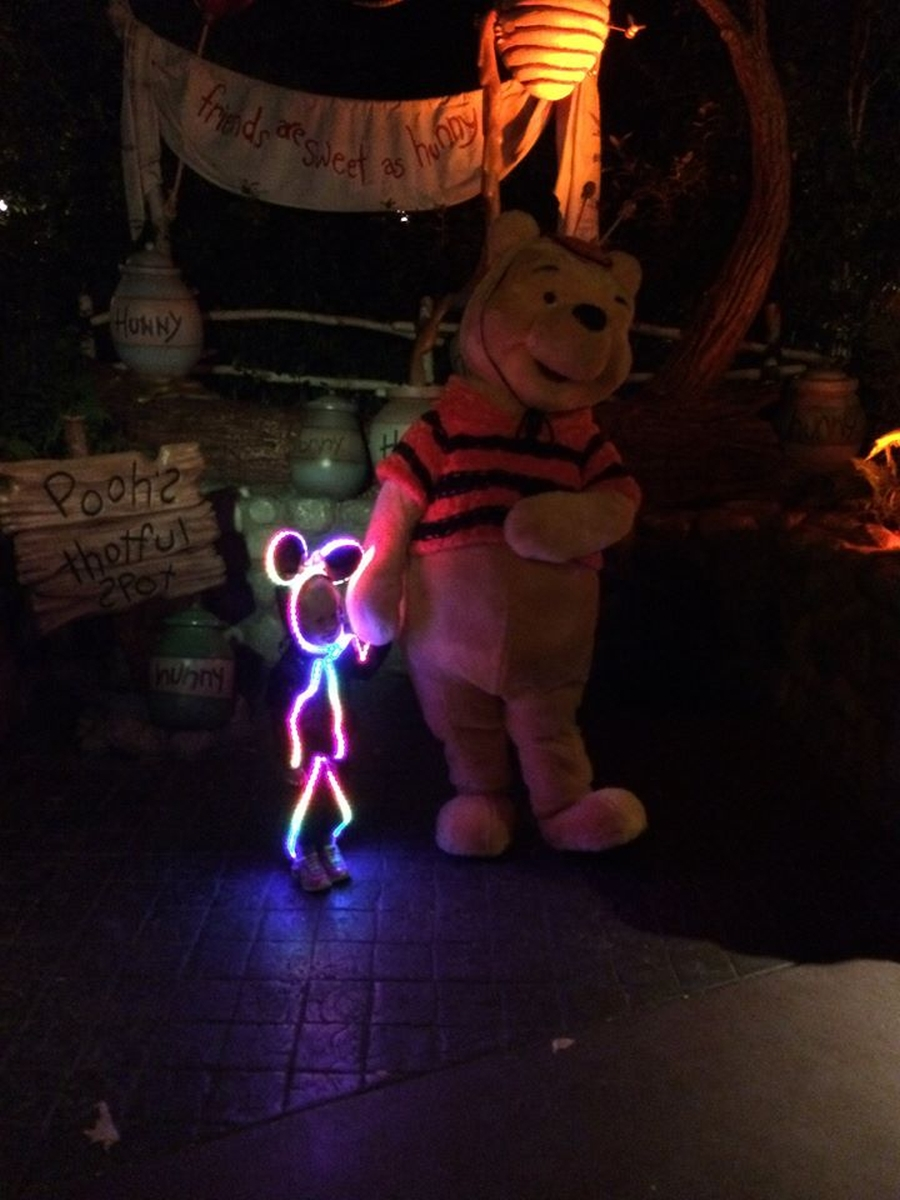 Glowy Zoey LED Minnie 3