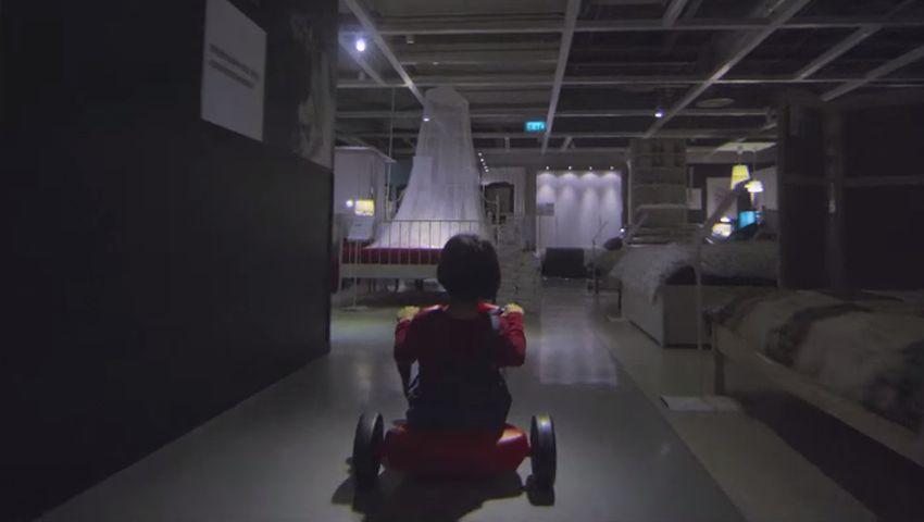 IKEA Halloween Shining 1