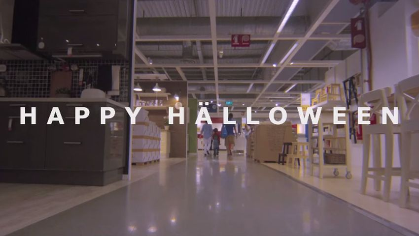 IKEA Halloween Shining 10