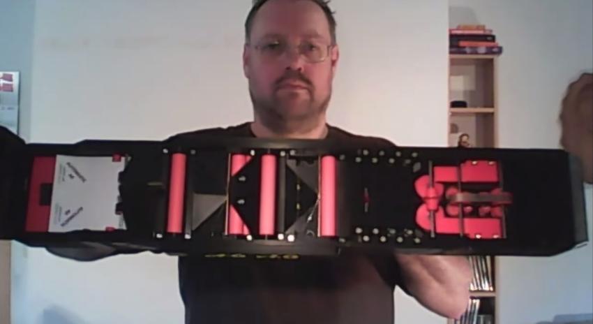 Krone Paper Airplane Gun 2