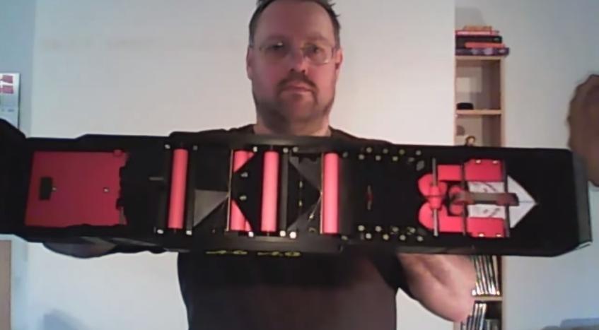 Krone Paper Airplane Gun 4