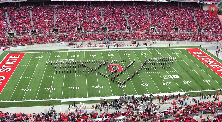 Ohio State Marching Band Classic Rock 1