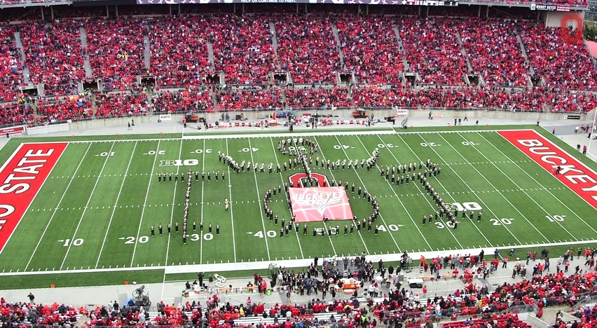 Ohio State Marching Band Classic Rock 2