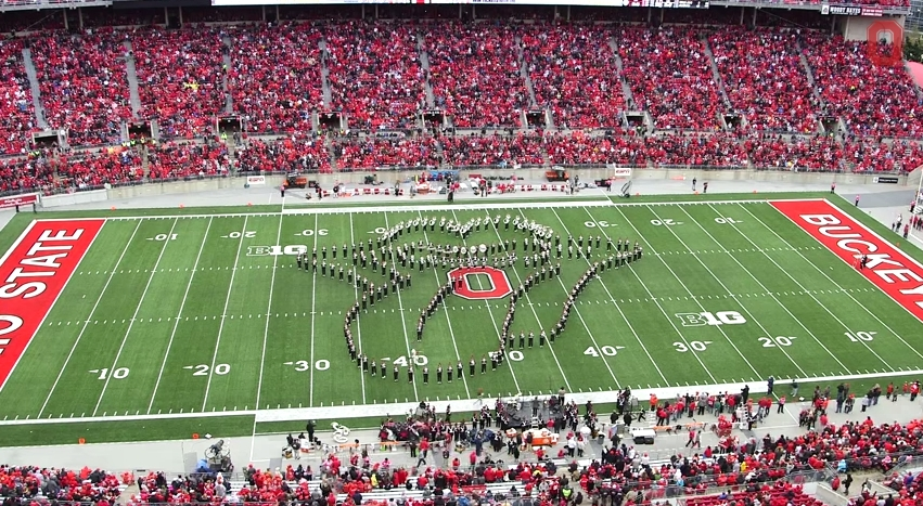 Ohio State Marching Band Classic Rock 3