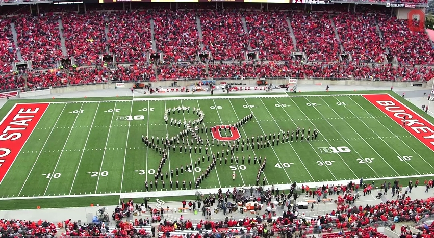 Ohio State Marching Band Classic Rock 5