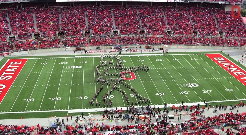 Ohio State Marching Band Classic Rock 6