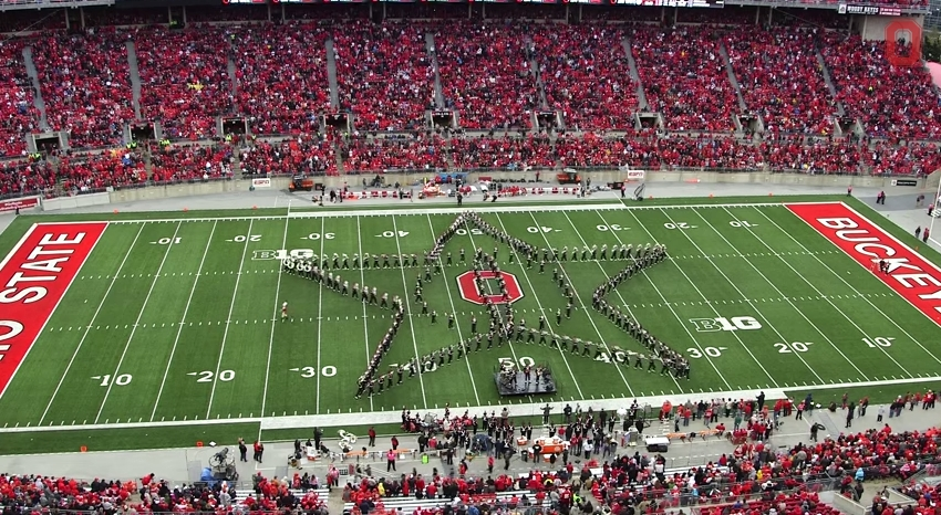 Ohio State Marching Band Classic Rock 7
