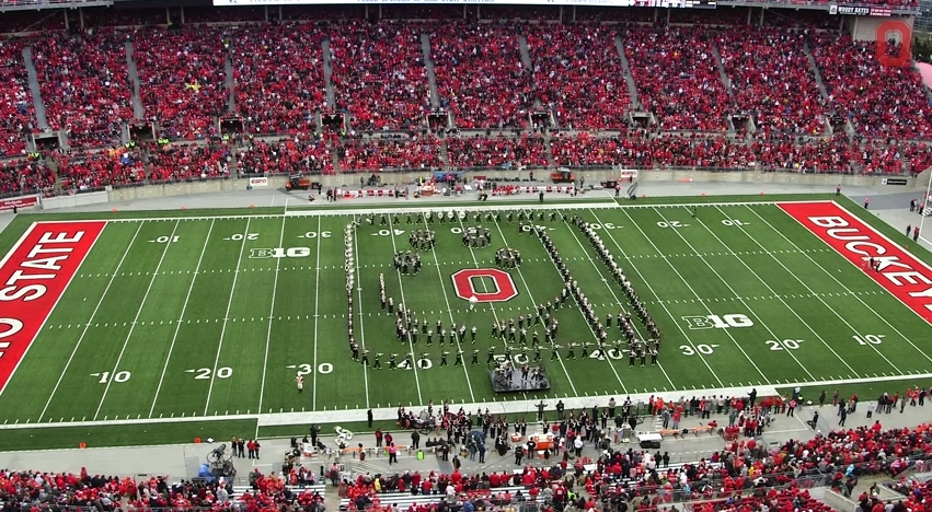 Ohio State Marching Band Classic Rock 8