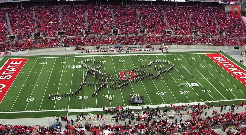 Ohio State Marching Band Classic Rock 9