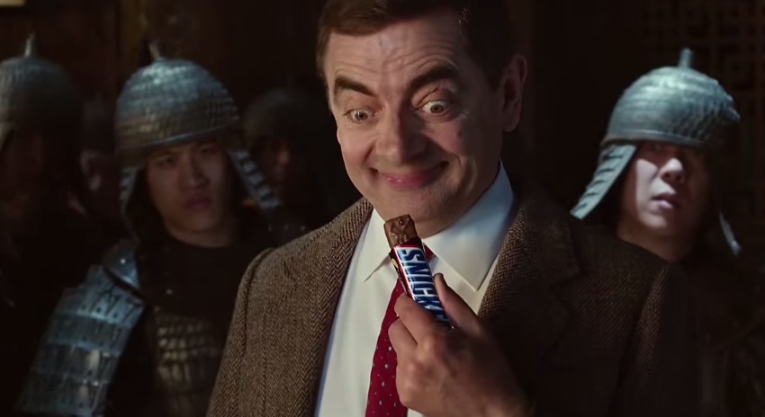 Snickers Mr Bean Kung Fu 11